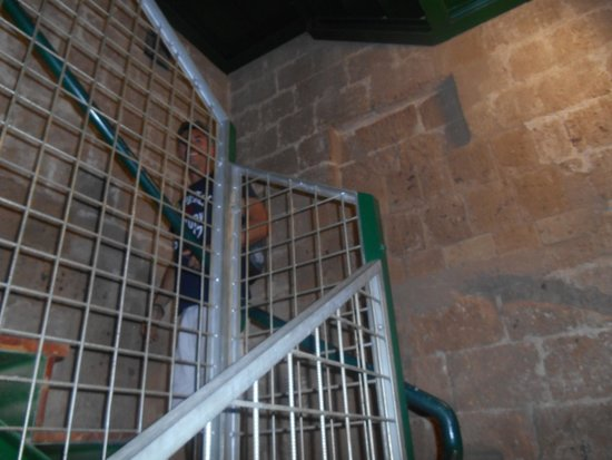 Torre del Moro: stairs