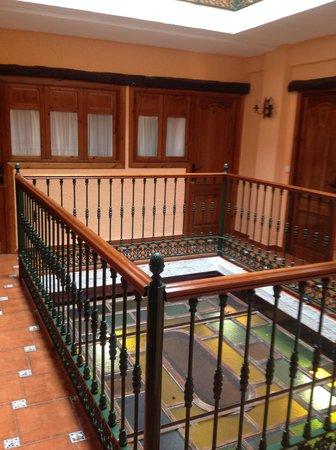 Hotel Hermanos Macias: Interior