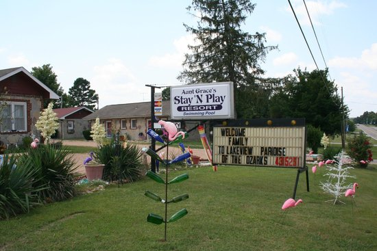 Aunt Grace's Stay 'N Play Resort: Great place to stay