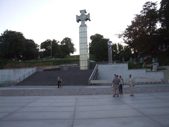 Vabaduse Monument: Крест Свободы.