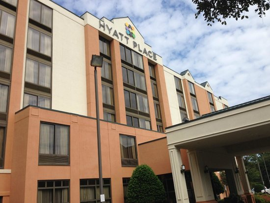 Hyatt Place Charlotte Airport/Tyvola Road : Front