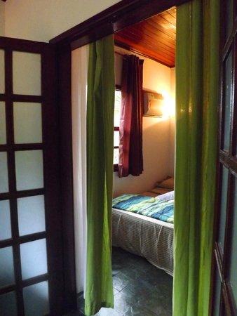 Overnativa Green Hostel: visto da varanda