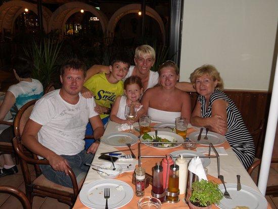 Raphael's Restaurant : Ужин)
