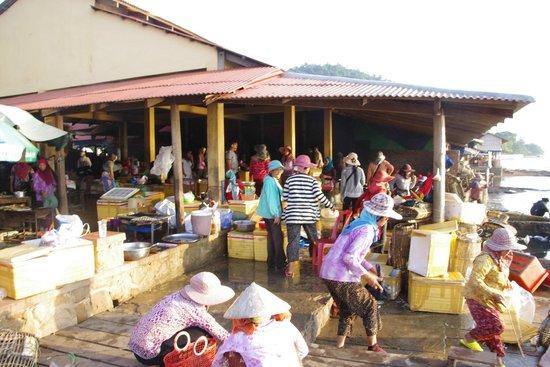 Kep Crab Market: marché