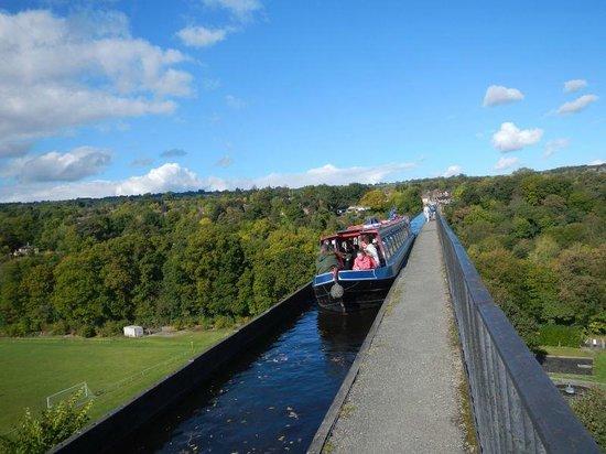 Glasgwm B&B: Pontcysyllte Aqueduct,