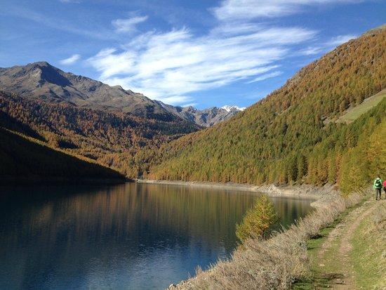 Vernagt am See: Vista verso ovest del lago
