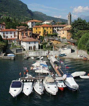 Ossuccio, Italy: vista aerea