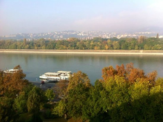 Danubius Health Spa Resort Helia: Gorgeous river view from the room