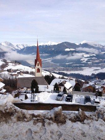 Berghotel Zirm : Панорамный вид из отеля