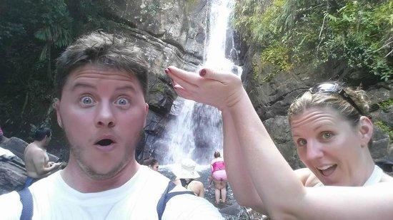 Yokahu Kayak Trips, Inc. : The waterfall on the first hike!