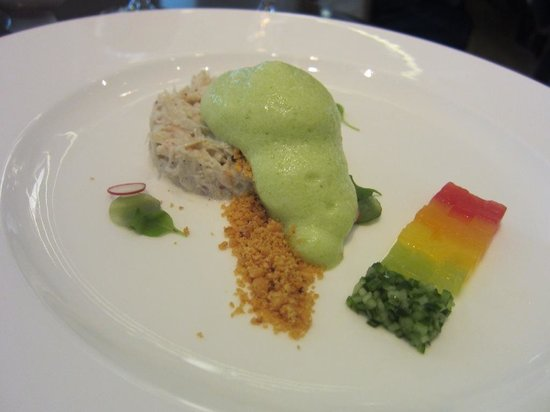 Bocuse Restaurant: jonah crab app