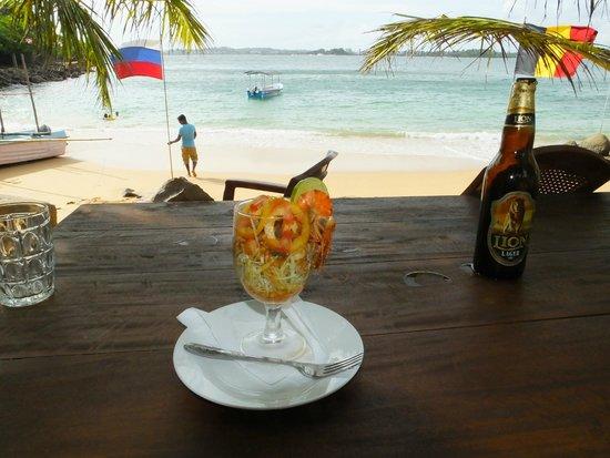 Unawatuna, Sri Lanka: My Seafood Cocktail..!