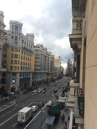 Hostal Pereda Hs: Vista balcone