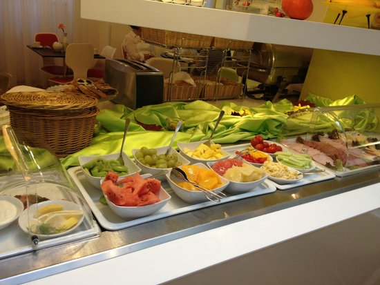 Small part of breakfast buffet picture of vintage design for 987 design hotel prague reviews
