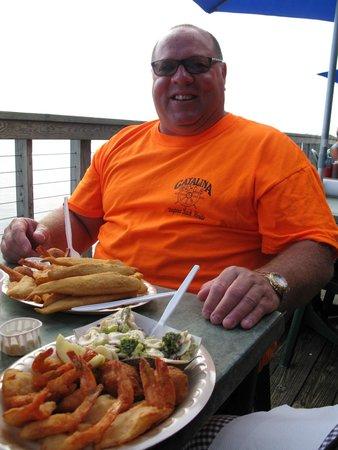 Our Deck Down Under: Fish & Shrimp Dinner