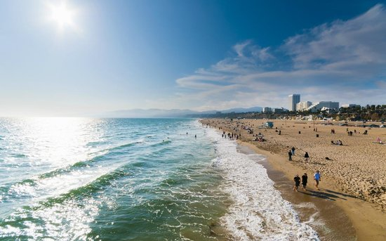 Los Angeles, Kaliforniya: Scenic Beaches