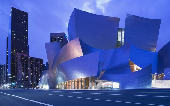 Los Angeles, CA: Frank Gehry's Walt Disney Concert Hall