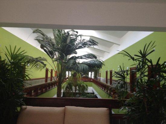 Balneario Pozo de la Salud: The main hall
