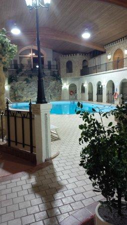 Quality Inn : Pool area