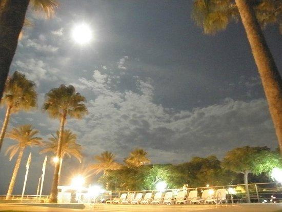 Apartamentos Tamarindos : Luna llena y piscina