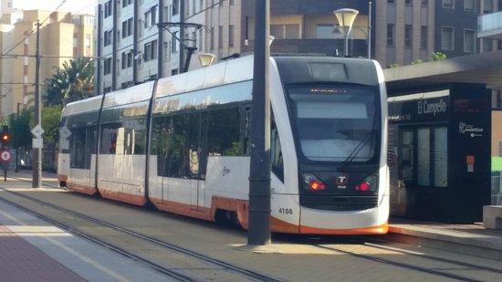Tranvía de Alicante: tram at el campello