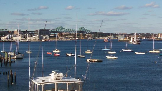 Boston Yacht Haven Inn & Marina: Our View