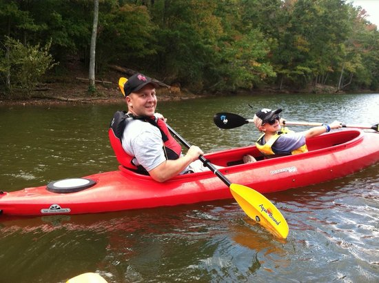 McDowell Nature Center and Preserve : They offer family Kayaking