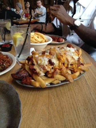 Carolina Roadhouse: Massive hot dog with all the fixings! Killer dog!