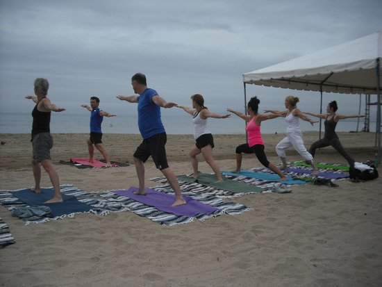 Yoga Vallarta: Private beach yoga for your group. Email us.