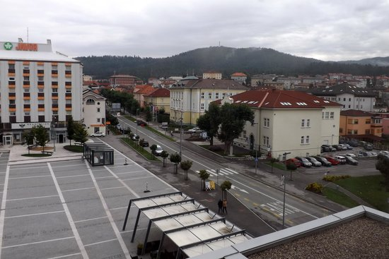 Hotel Kras : View of the square from the hotel room