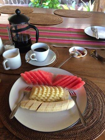 Gili Hideaway: Breakfast