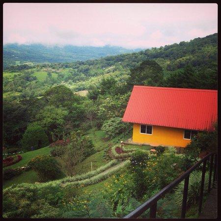 Cabanas El Parador : Nuestra Cabaña con capacidad para 6 personas, con vista excepcional.