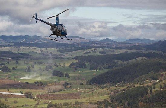 U Fly Heli Trial Flights: Flying over the beautiful Tasman region