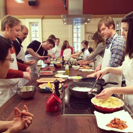 Cooking Class in Greenville - Review of Charleston Cooks! Maverick ...