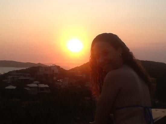 Pousada Santorini: por do sol