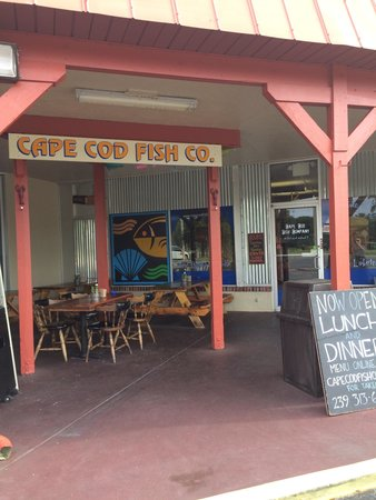 Cape cod fish company fort myers menu prices for Fish restaurant fort myers