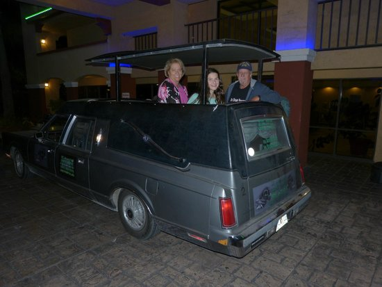 Ghost Tours St Augustine Hearse