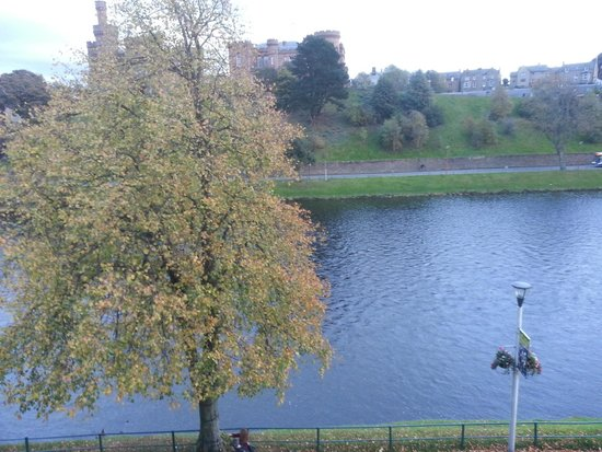 Day view from Rm 022 across from Inverness Castle