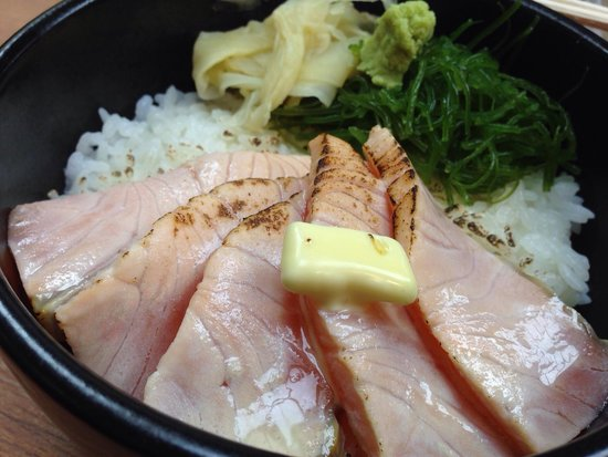 Otaru Poseidon : Aburi Salmon Don