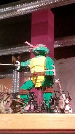 Toy and Action Figure Museum: Lego Ninja Turtle
