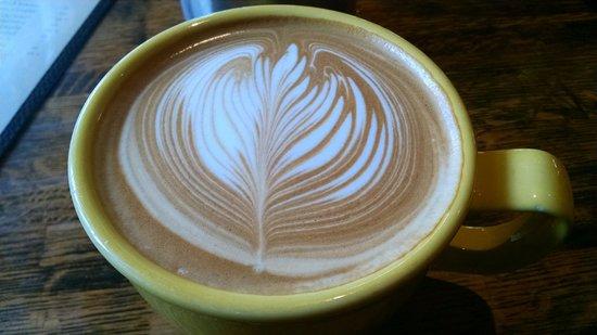 Buff Restaurant: Vanilla Latte