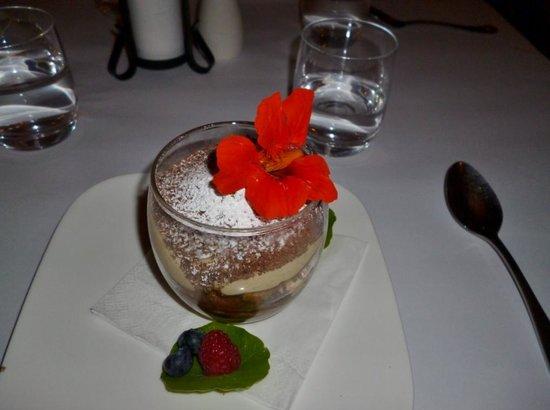 Il Cacciatore Restaurant: Dessert dish