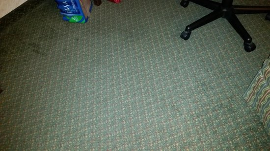 MCM Elegante Hotel: carpet in the room stained