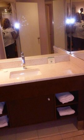 Inn of the Dove Romantic Luxury & Business Suites: Bathroom