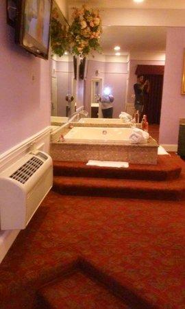 Inn of the Dove Romantic Luxury & Business Suites: Jacuzzi