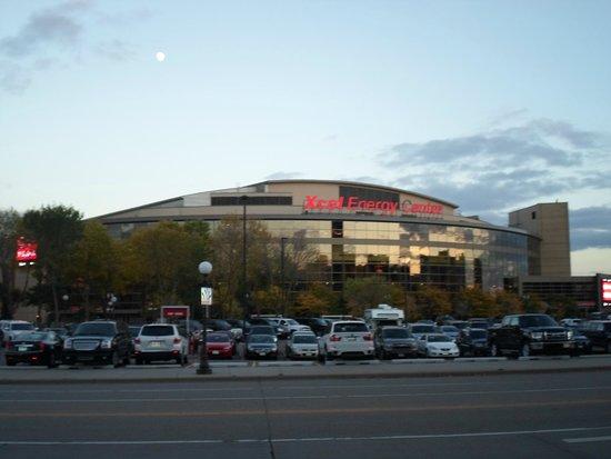 Xcel Energy Center: exterior