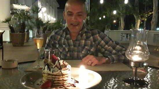 Bistro M: Excelente cumpleaños!