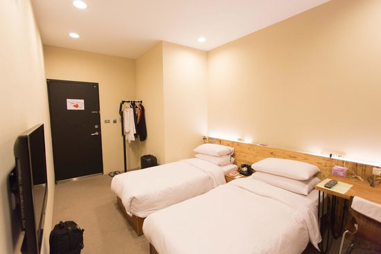 a Simple Place Ximending Taipei : Twin bedroom