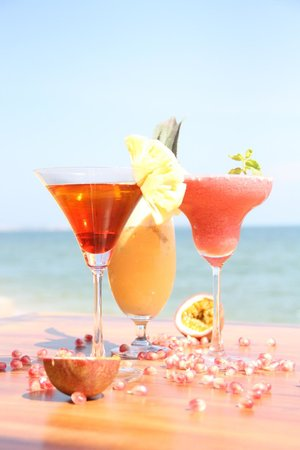 Pogo Beach Bar & Grill: Fresh cocktails