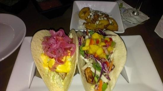 Flying Iguana Taqueria & Tequila Bar : love these tacos @ the flying iguana